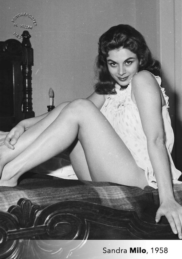 Sandra Milo nel 1958