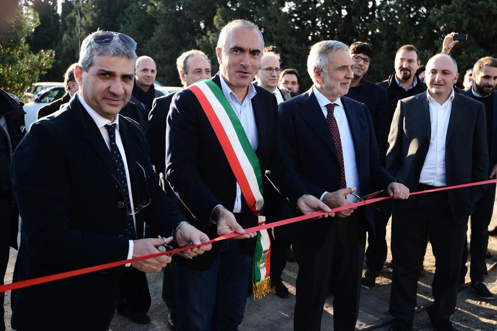 Aldo Sergio Leggio, Luigi Nicolais, Enzo Sindoni e Francesco Sergi